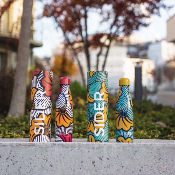 Duo Pack des bouteilles réutilisables, inoxydables et isothermes SIDER